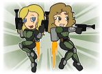Ellie and Juniper Vs the World w/ Jetpacks by shineyorkboy