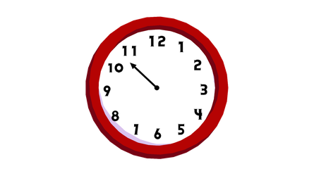 [MMD] Simple Clock (DL) by DollyMolly323