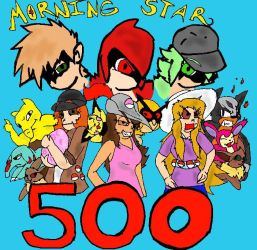 500 page views!!! by SaintsSister47