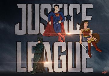 Justice League 2017 Contest by MartyRossArts