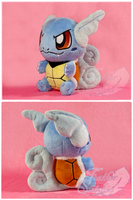 Wartortle Chibi Plush by FeatherStitched