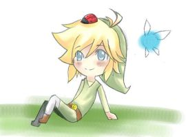 Toon Link again x3 by HylianKittyLink