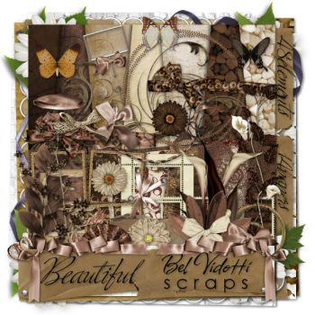 Scrapbooking Brown v3 by rakanksa