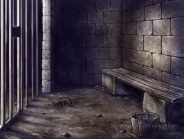 Prison cell concept by SybariteVI