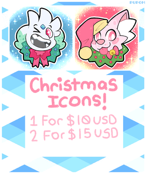 Christmas Icon Commissions (closing soon) by Pupom