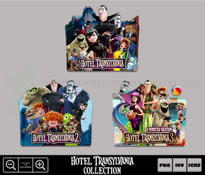 Hotel Transylvania Collection Icon Pack by Bl4CKSL4YER