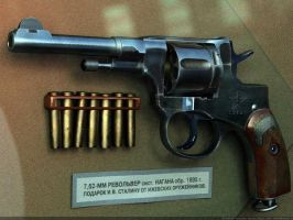 Joseph STALIN's own revolver by VladiT