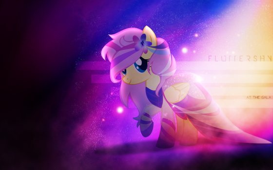 At the Gala   Fluttershy [Alternative] by Vexx3