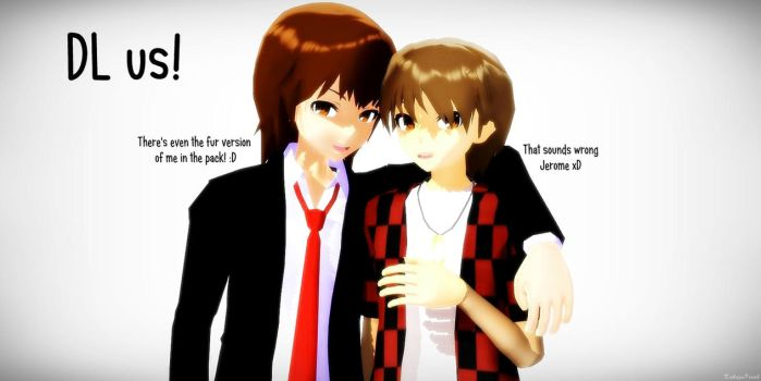 [MMD] Merome xD DOWNLOAD by KakuzuFreak