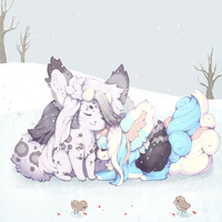 {A Winter Farewell} by engare