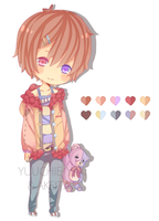[CLOSED] Adopt Collab w/ Yuuchie-Yaki by Akeita
