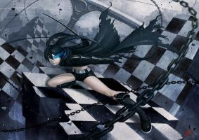 Black Rock Shooter by Luches
