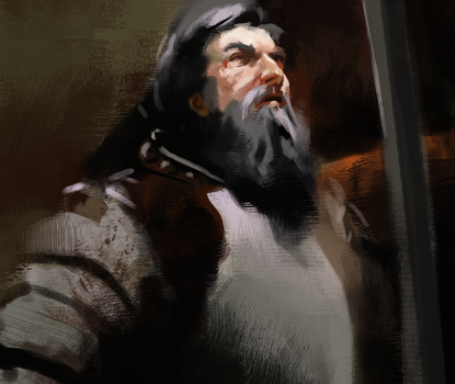 Brushwork Study by George-Eracleous
