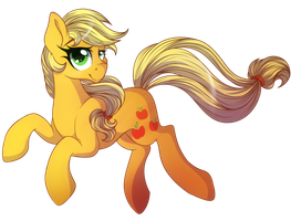 Collab: Applejack by EmbersLament