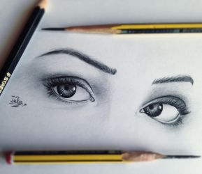 Her eyes! by toribotto