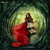 RED RIDING HOOD by black08ice