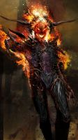 The Dread Dormammu WIP by uncannyknack
