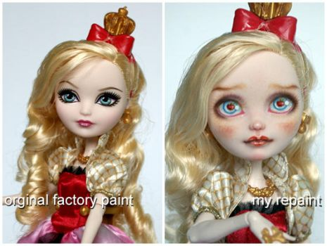 Apple before and after repaint by kamarza