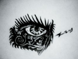 Comic Bold Eye Practice by R1bcage