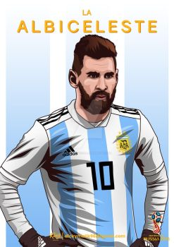 Argentina - Lionel Messi by dicky10official