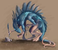 Creature Concept by MeliHitchcock