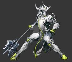Warframe Oberon by lotushim554