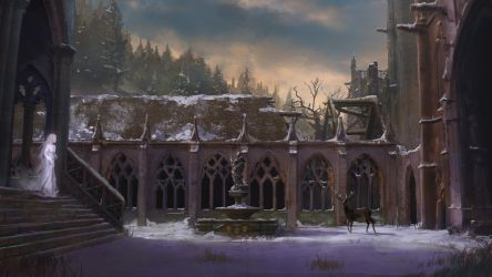 Ghosts of the cloister by Silberius