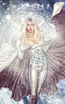 X-men - Emma Frost The White Queen by tomzj1