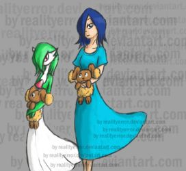 Rukia and gardevoir by realityerror