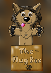 YCH Hugbox - Fluffyfolf by Tails--the--Fox