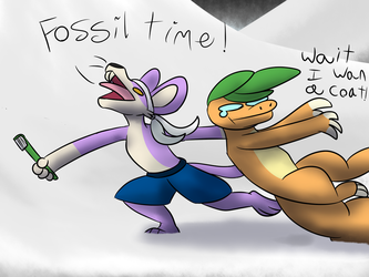 Fun With Fossils by Vulpix150