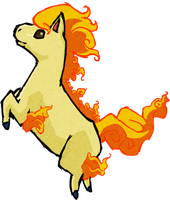 Ponyta WWS by the19thGinny