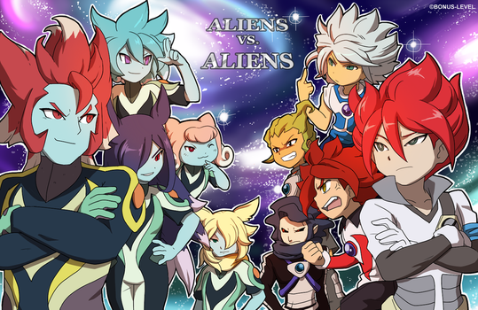 The Aliens Have Arrived by OkamiRemedy
