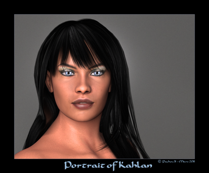 Portrait of Kahlan by Pachou31
