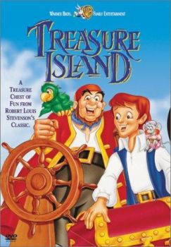 Treasure Island (1973) DVD Cover by TheNoblePirate