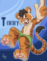 BLFC badge: Timmy by pandapaco