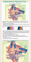katy perry layout tutorial by snappedbeat
