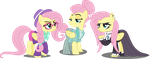 Fluttershies by Tralomine