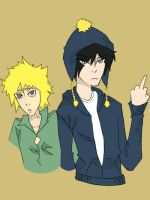 Craig and Tweek by BlackWinged12
