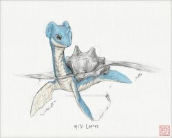 (Read Below) Hand-Drawn Lapras [Colored Ver.]