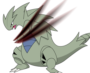[Request] Tyranitar by AwokenArts