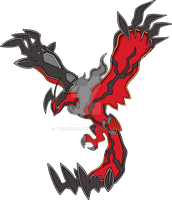 Yveltal - Art v.2 (SA Style) by Tails19950