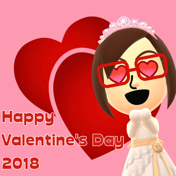 Happy Valentine's Day 2018 by arrienne408