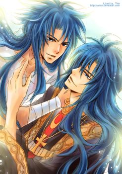 St.Seiya - Just the two of us by zefiar