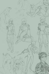 sketch dump by Eragona
