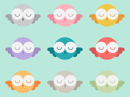Flying Owls by apparate
