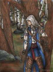 Assassin's Creed 3 : Connor by Art4Games