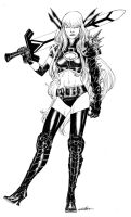Magik of the X-Men by SpiderGuile
