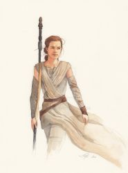 Wonderful Rey by wovenlines