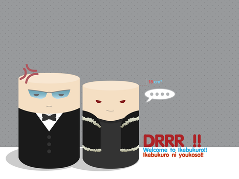 'DRRR'Can serie'Shizaya' by Poppycage